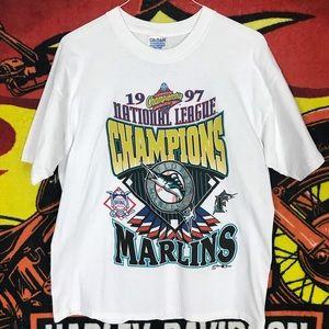 Vintage Miami Marlins 1997 World Champion Shirt